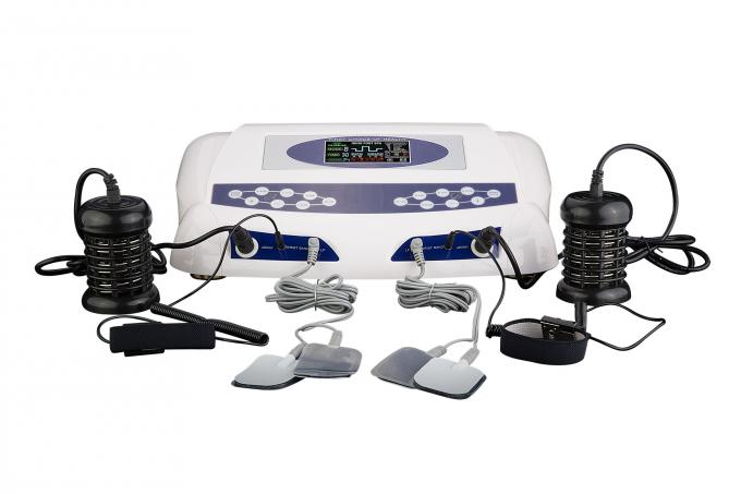 Double use ion cleanse foot detox machine with optional massage slipper for two people